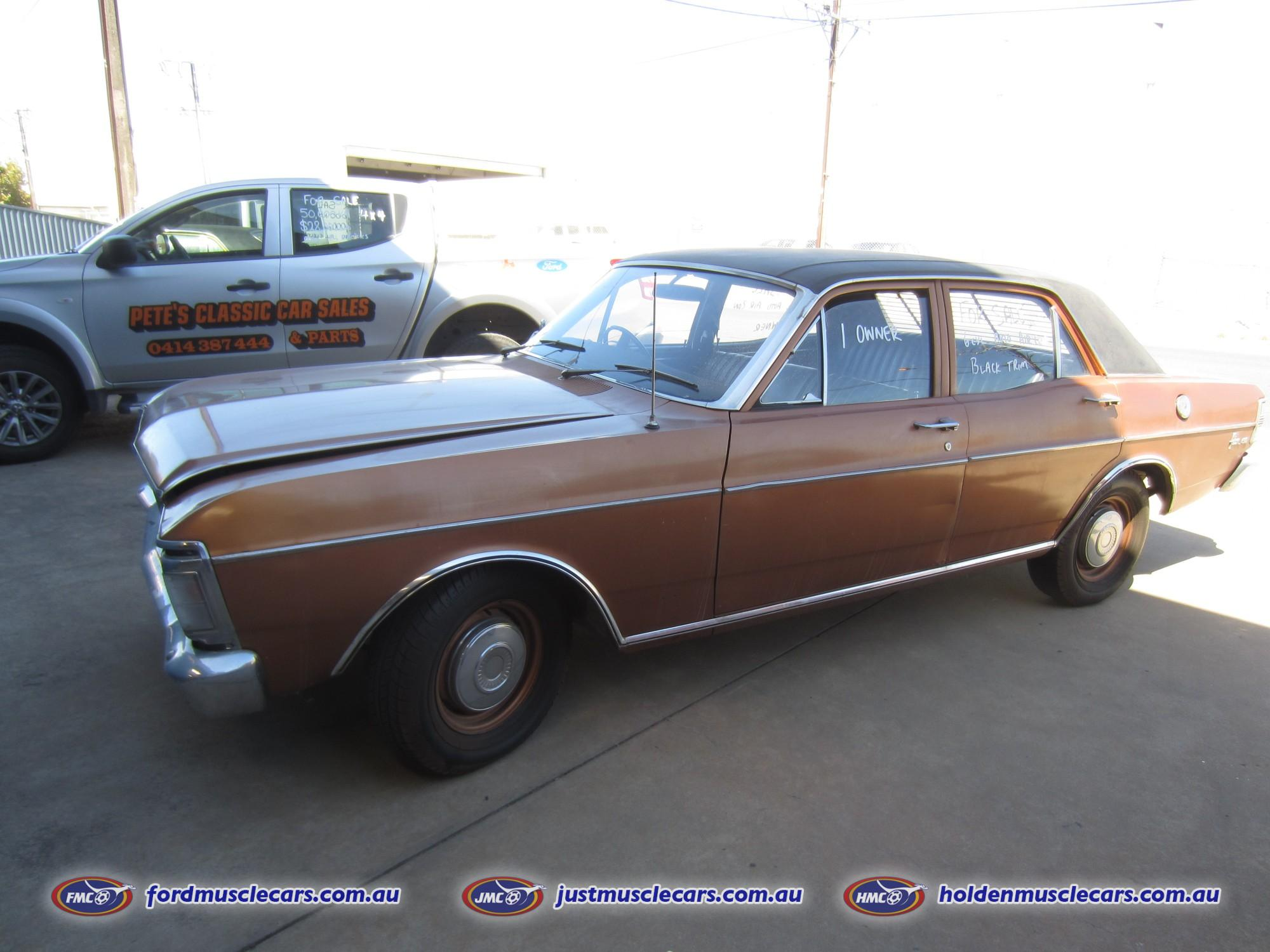 1970 FORD FALCON 500 XY 1 OWNER ESTATE   MAY TRADE OTHER