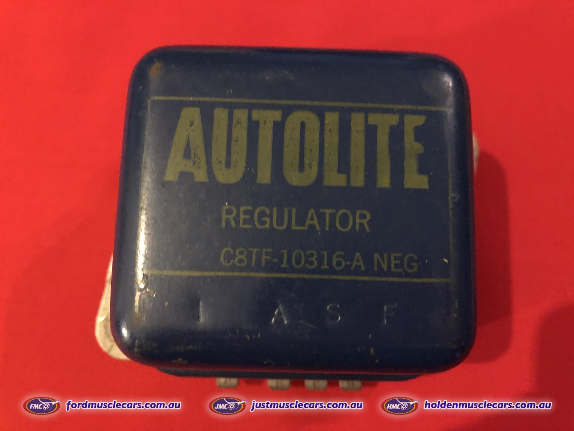 Mustang 68-73 NOS Autolite Voltage Regulator